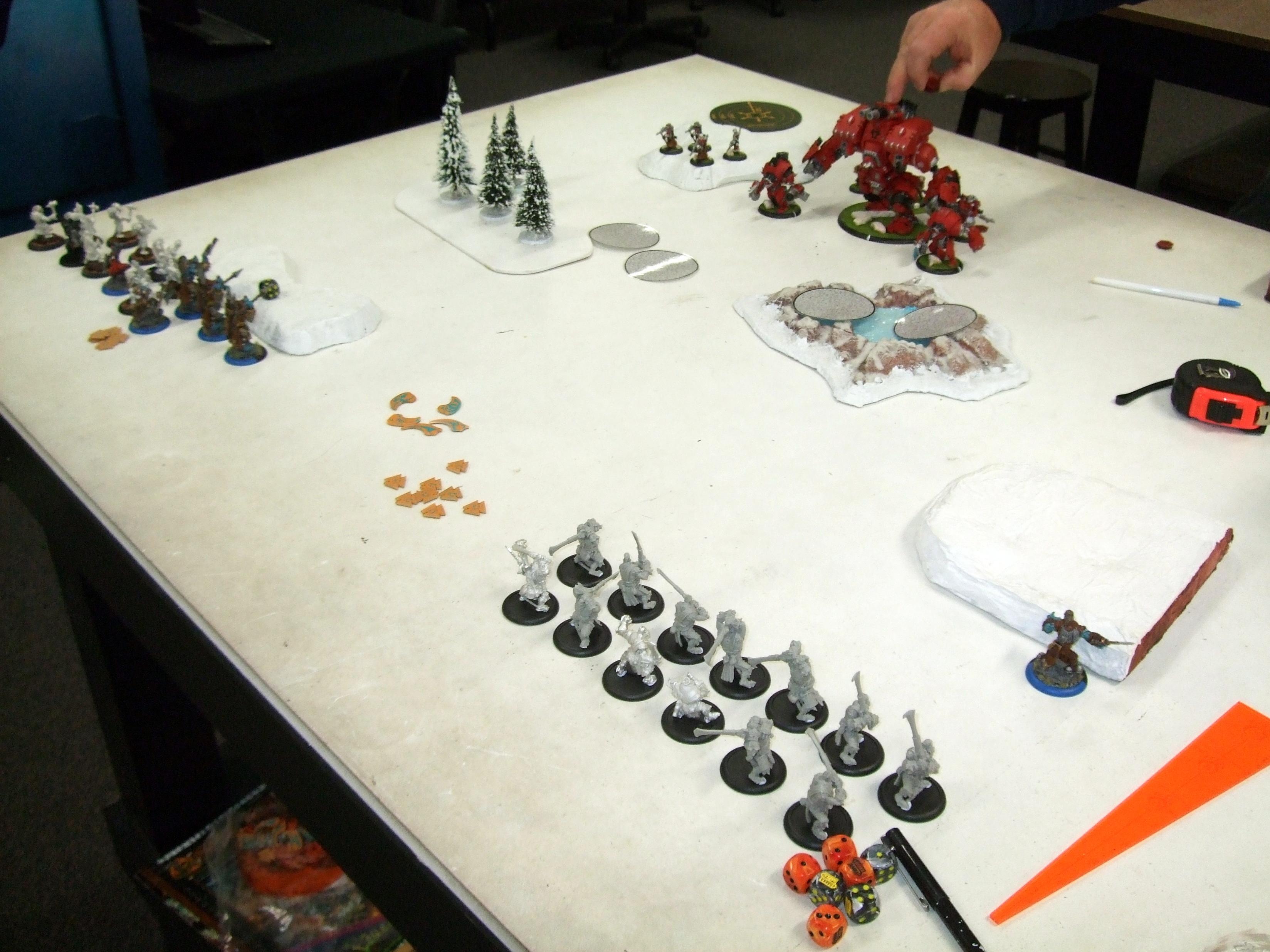 Conquest, Hordes, Trollbloods, Warmahordes
