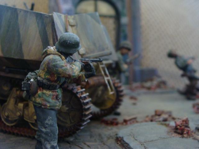 1/35, Armor, Diorama, Panzer, World War 2