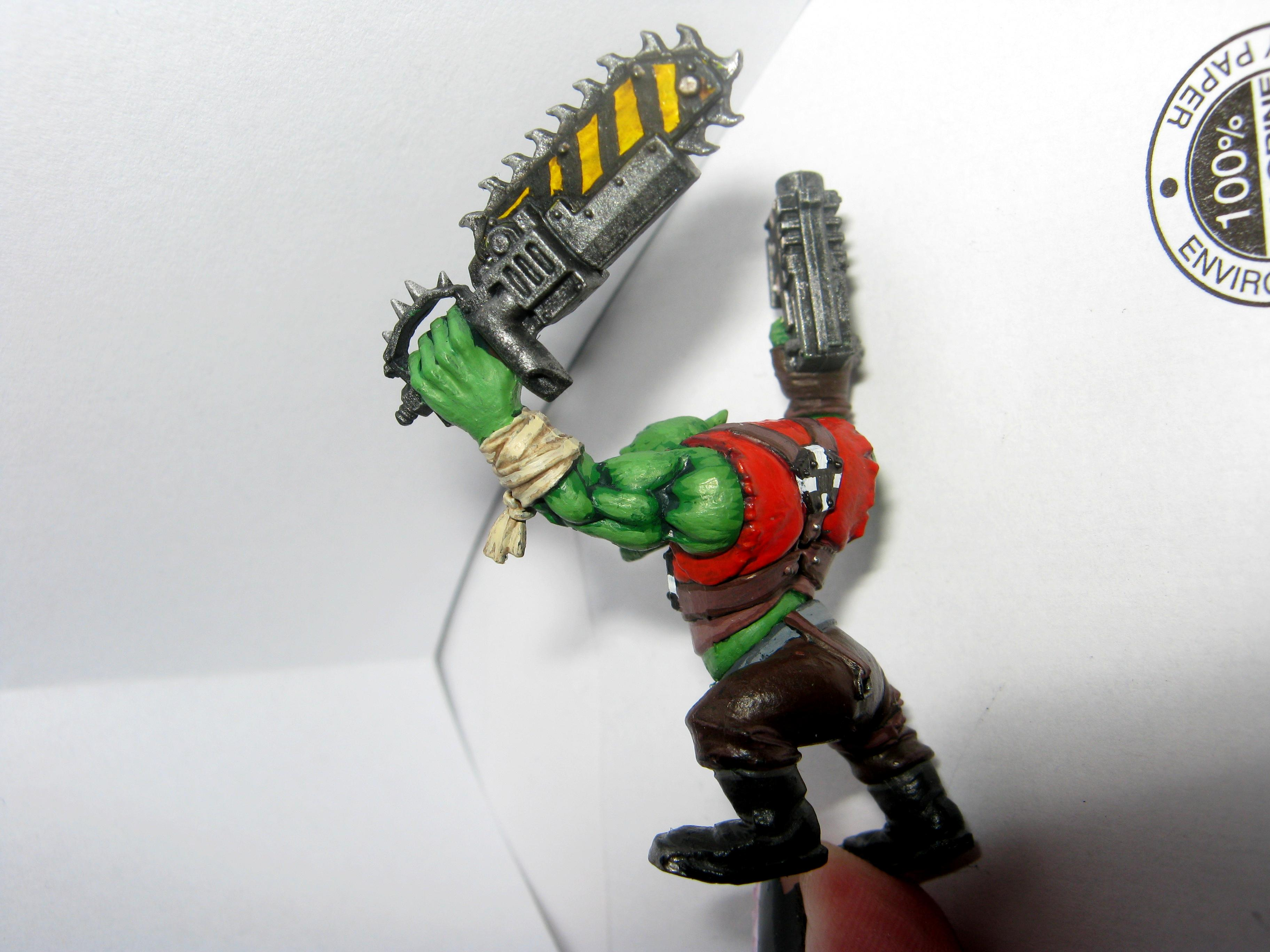 The back of my Ork