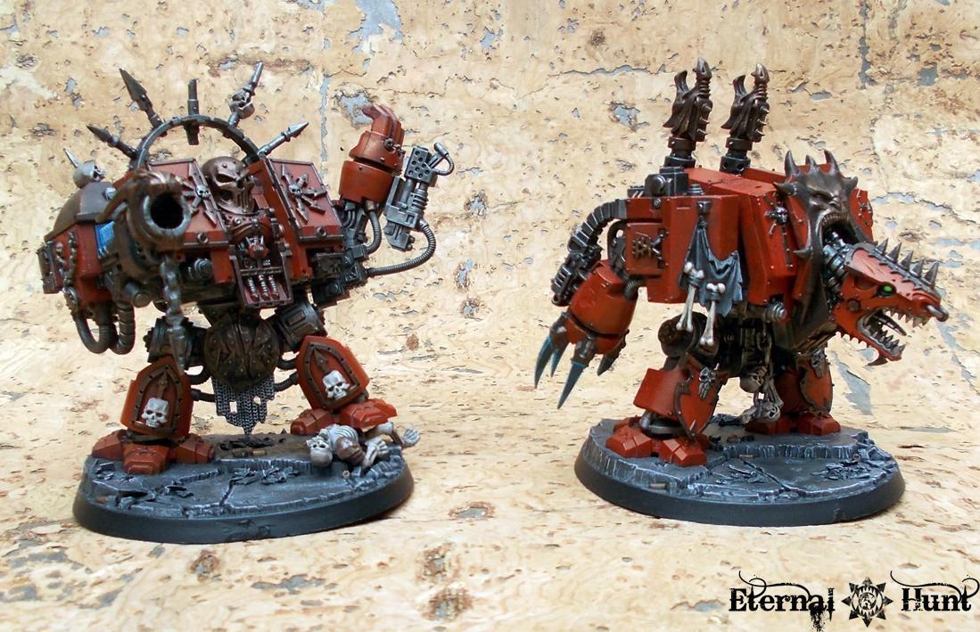 Chaos, Chaos Space Marines, Dreadnought, Khorne, Khoron, Marax, Warhammer 40,000, World Eaters