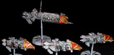 Battlefleet Gothic, Spaceships, Warhammer 40,000