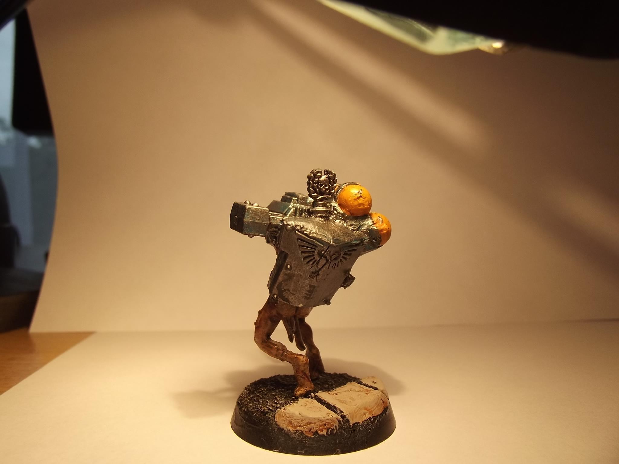 Gun, Imperial Guard, Servitors