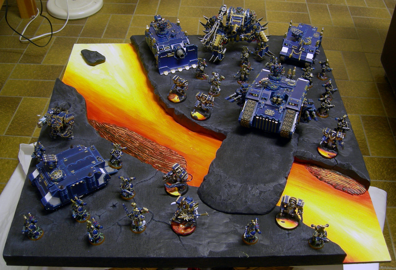 2012, Armies On Parade, Chaos Space Marines, Magma