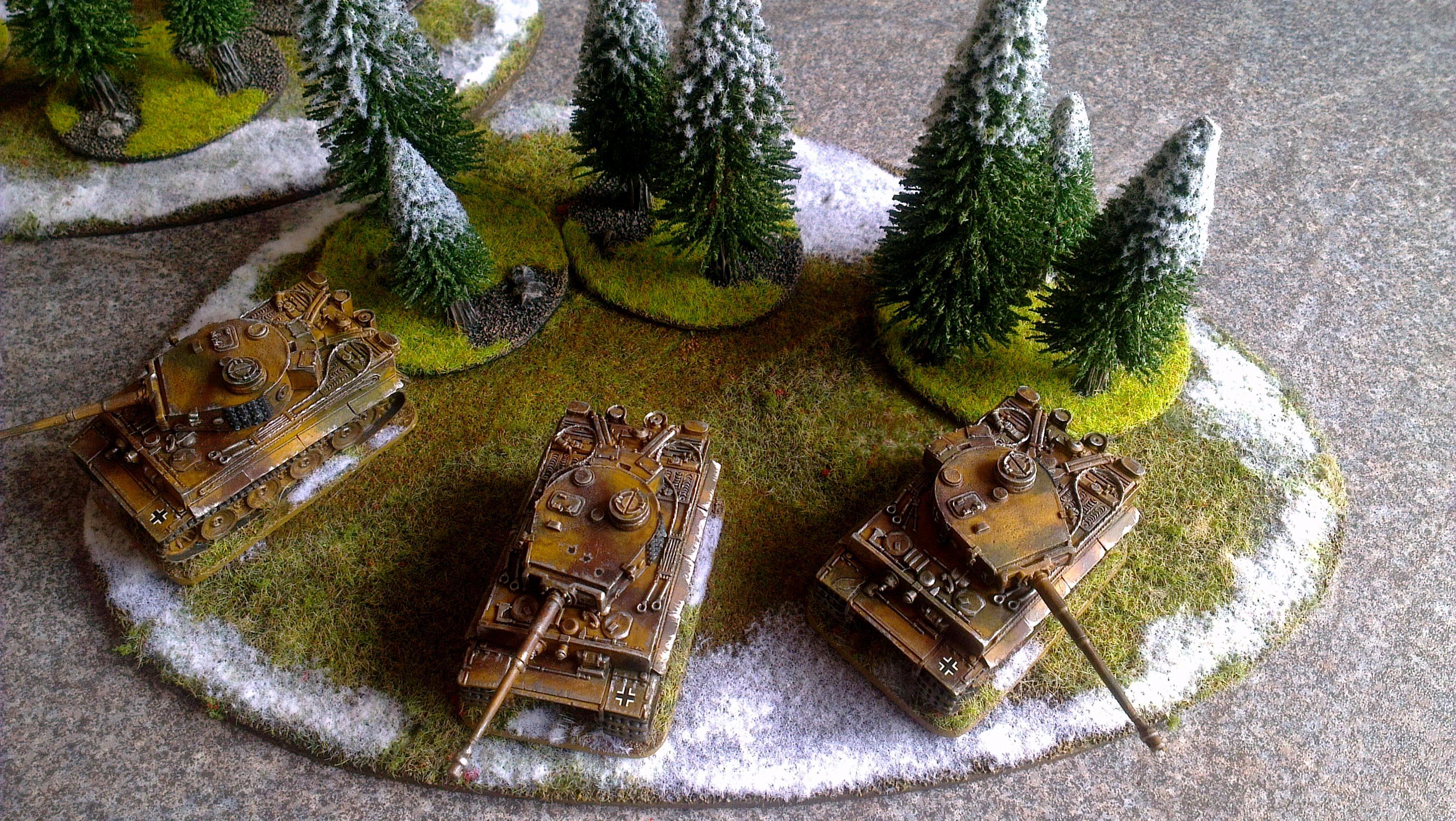 Flames Of War, Germans, Tigers