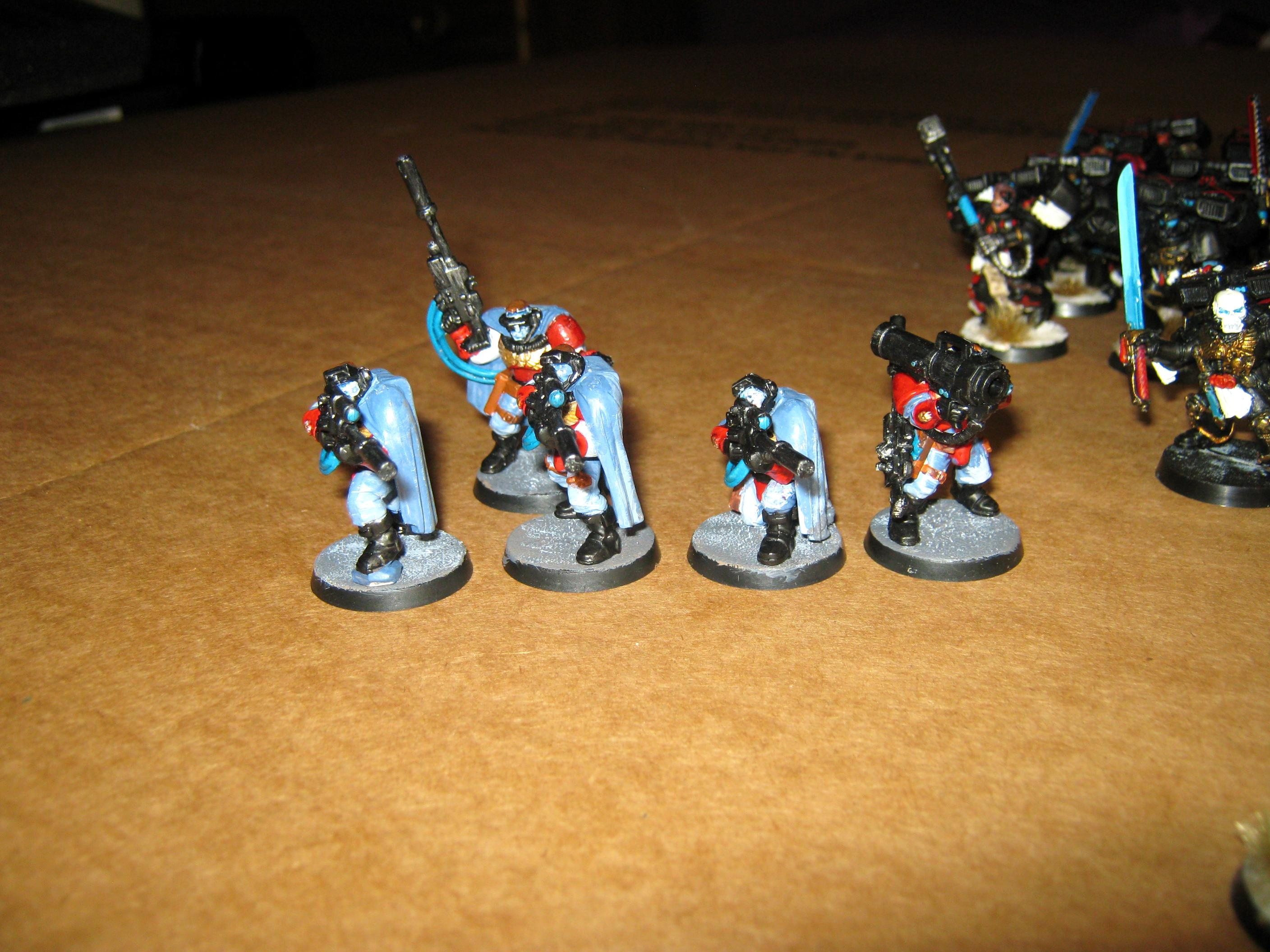 Blood angels scouts