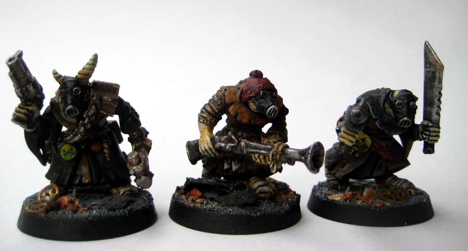 Necromunda, Scavvy, Scavvy Warriors