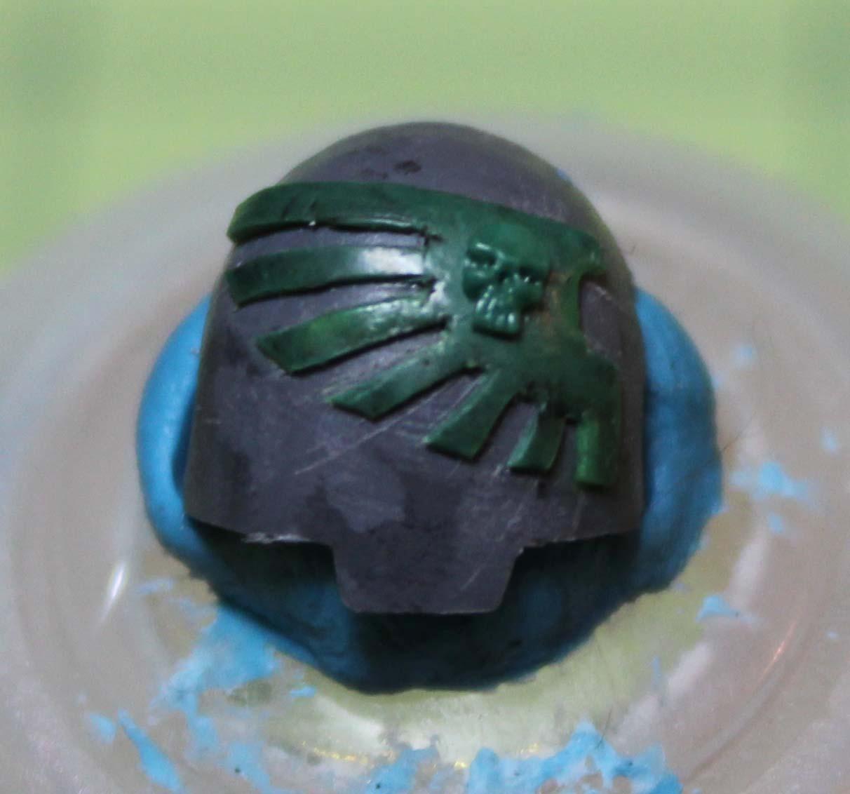 Dark Angels, Greenstuff, Minis, Sculpting, Warhammer 40,000