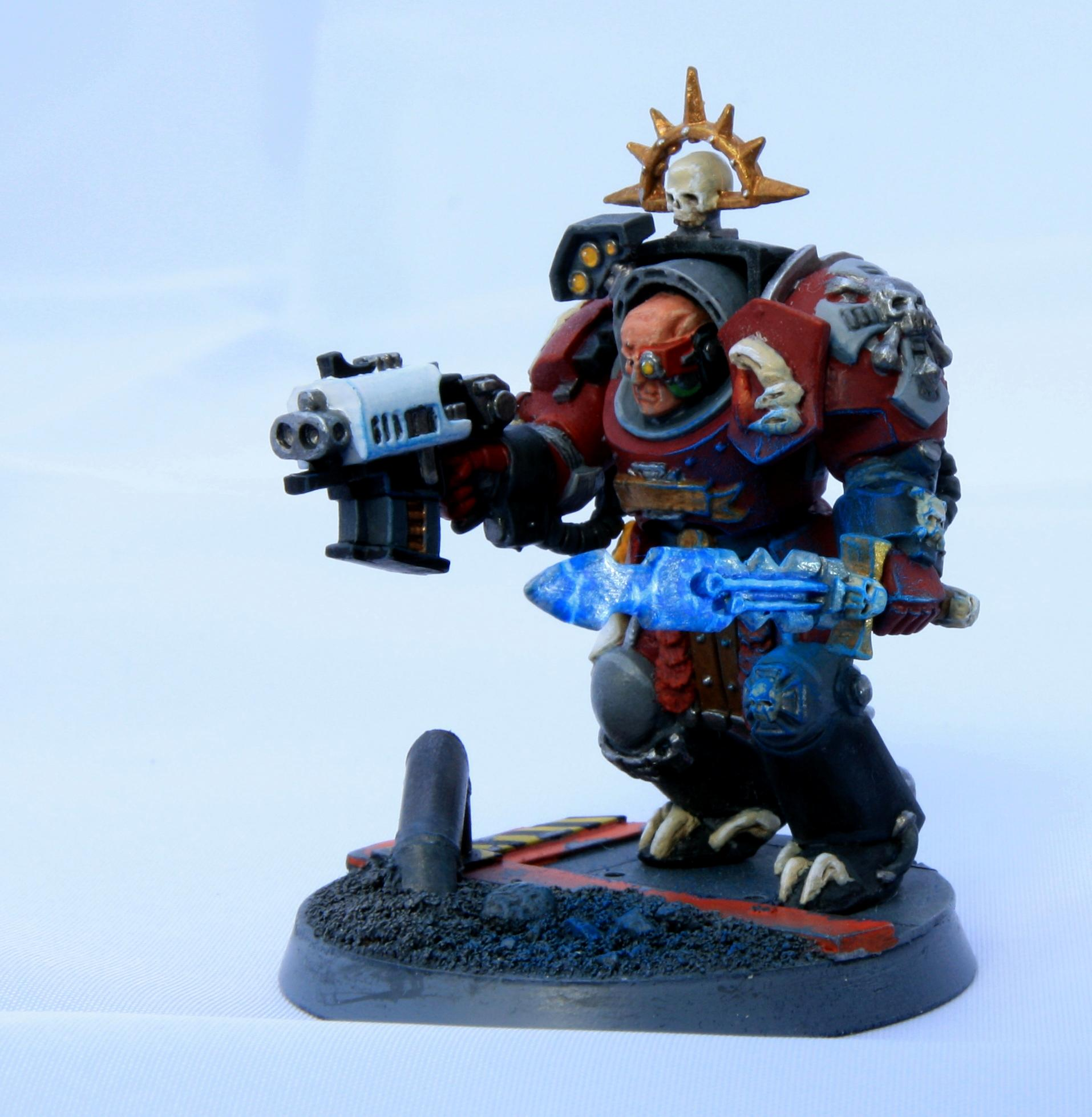 Sergeant, Space Marines, Terminator Armor, Warhammer 40,000