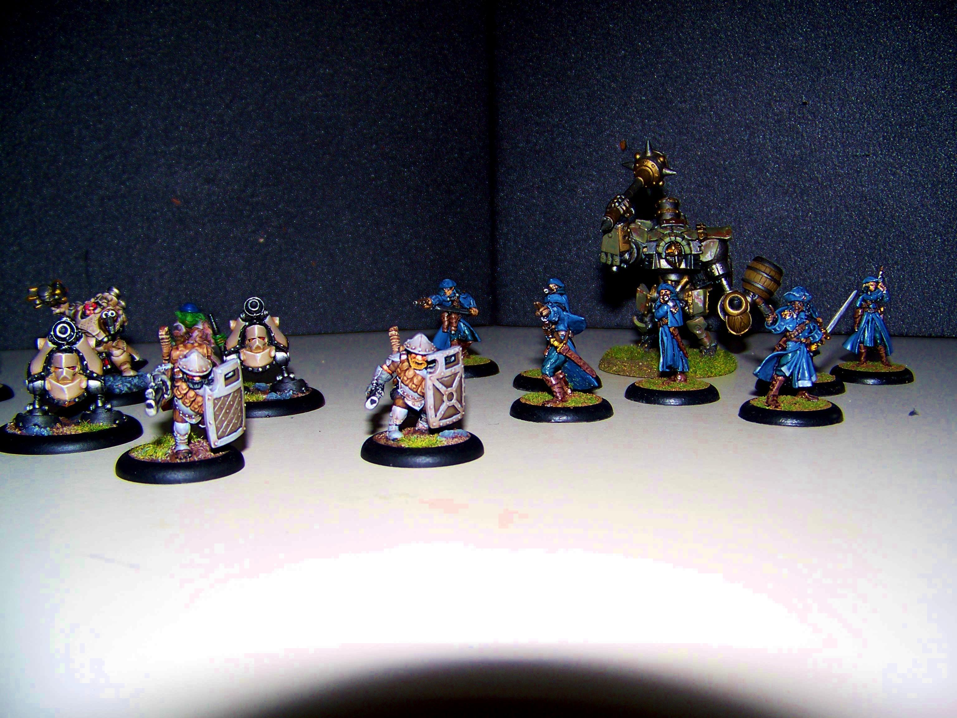 Mercenary, Rhulic, Searforge, Warmachine