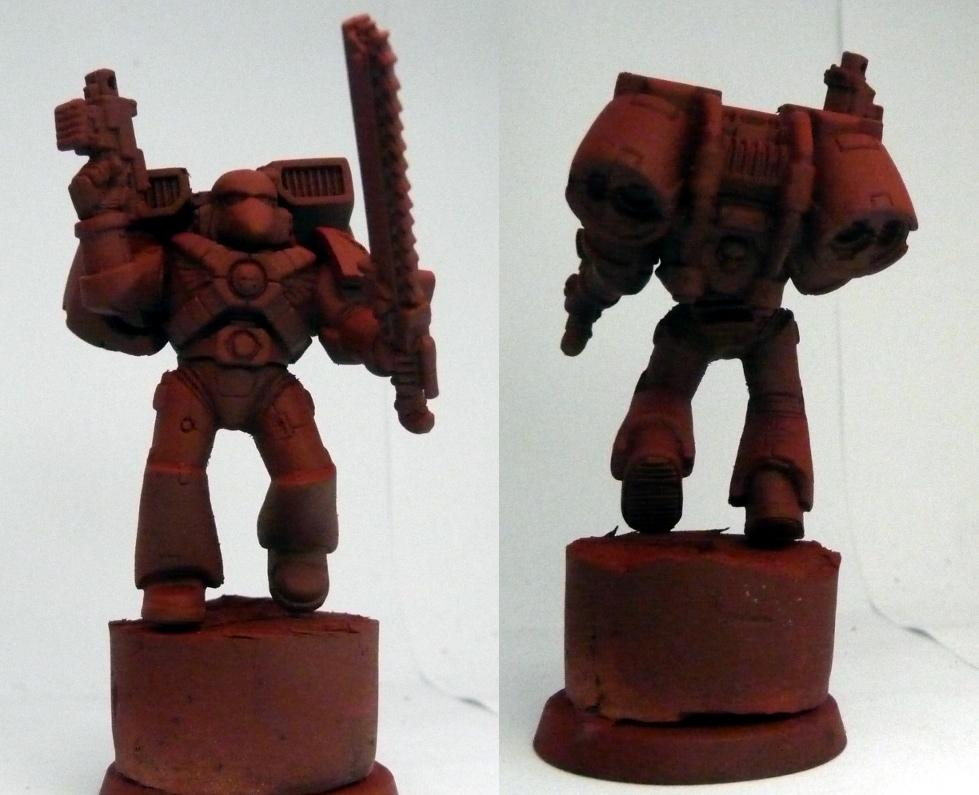 Blood angel assault marine Second Zenithal coat