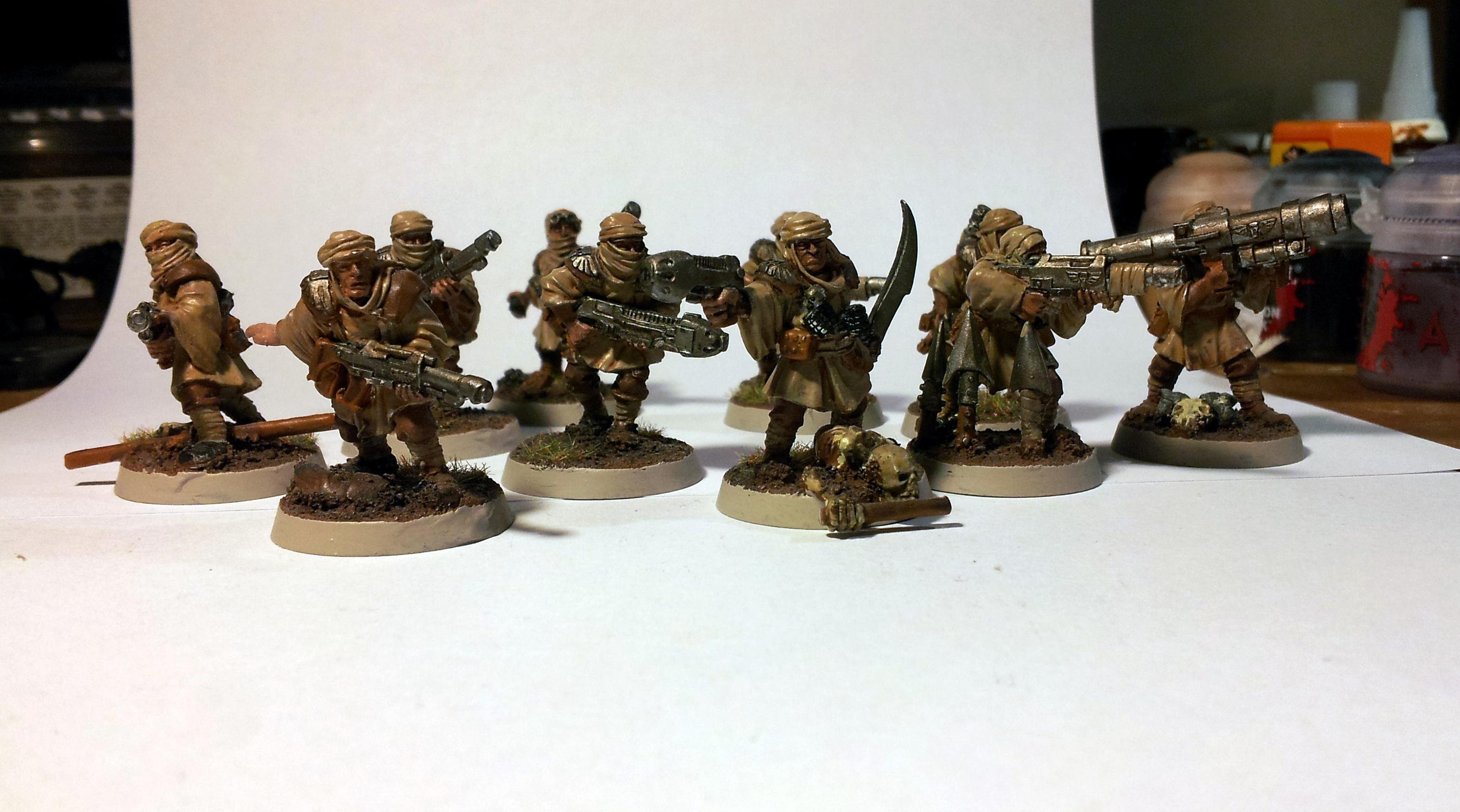 Guards, Imperial Guards, Tallarn Desert Raiders