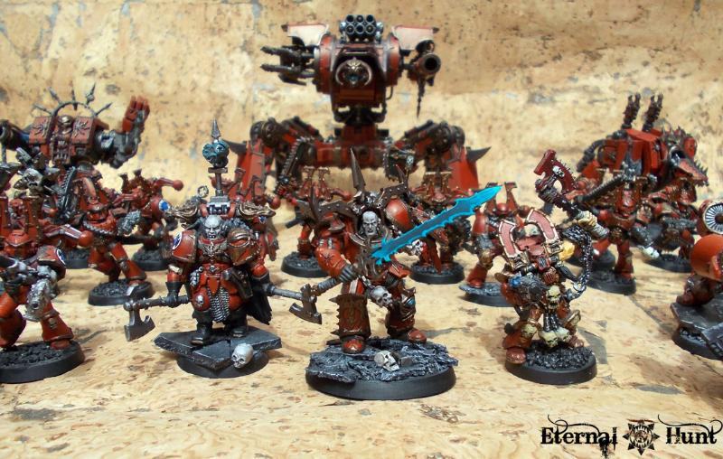 Army  Chaos  Chaos Space Marines  Conversion  Khorne