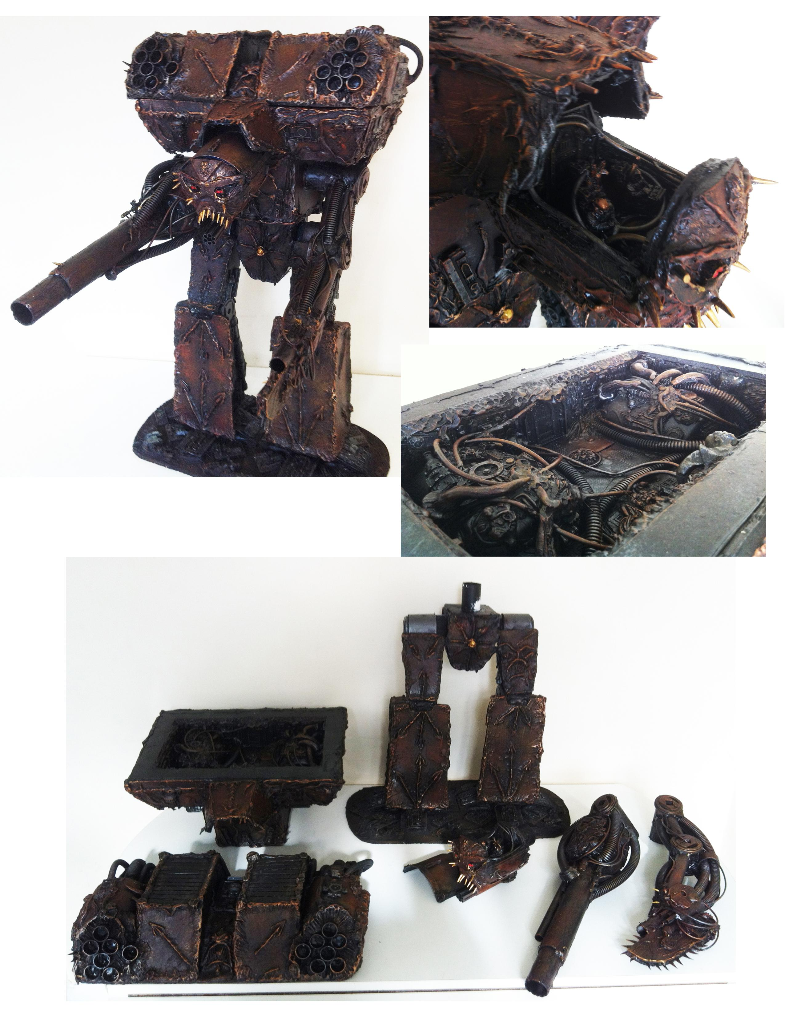 Commission, For Sale, Forge World, Interior, Massive, Scratch Build, Titan, Warhammer 40,000, Warlord