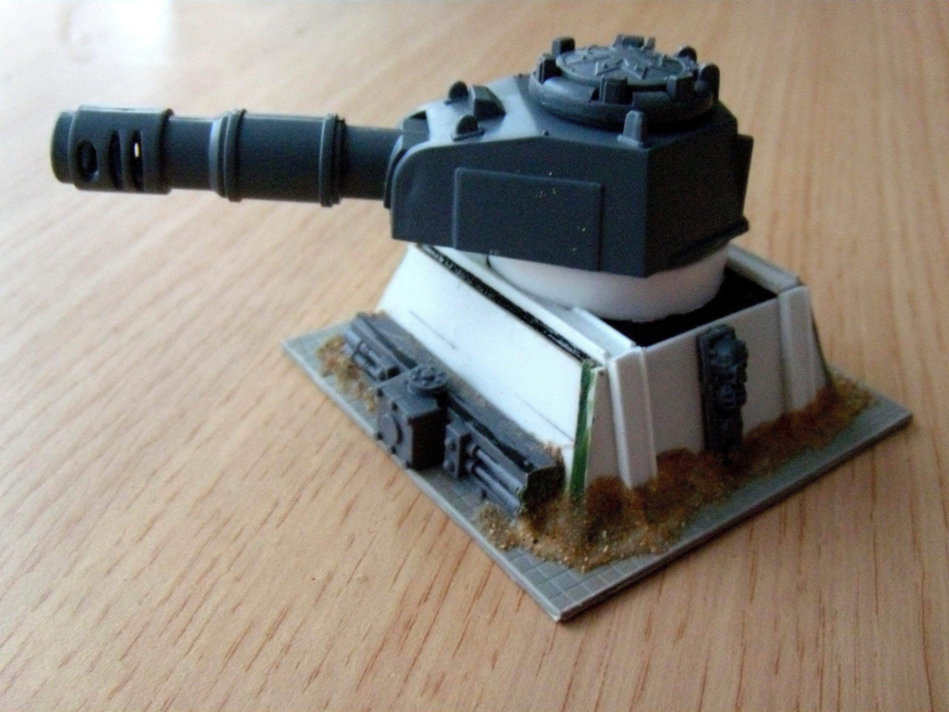 Turret emplacement WIP