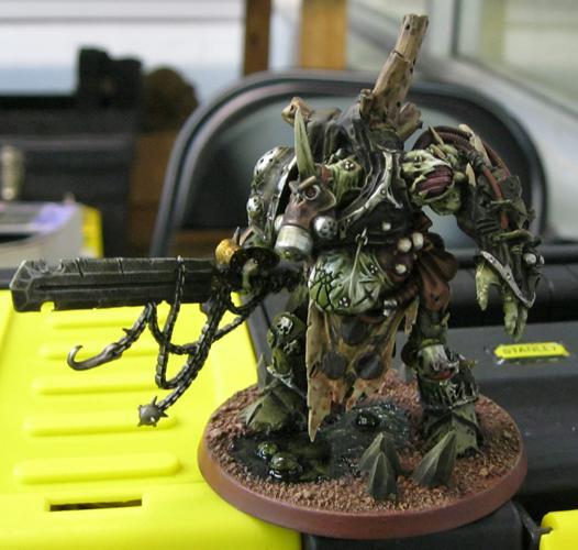 Daemon Prince, Death Guard, Gas Mask, Nurgle