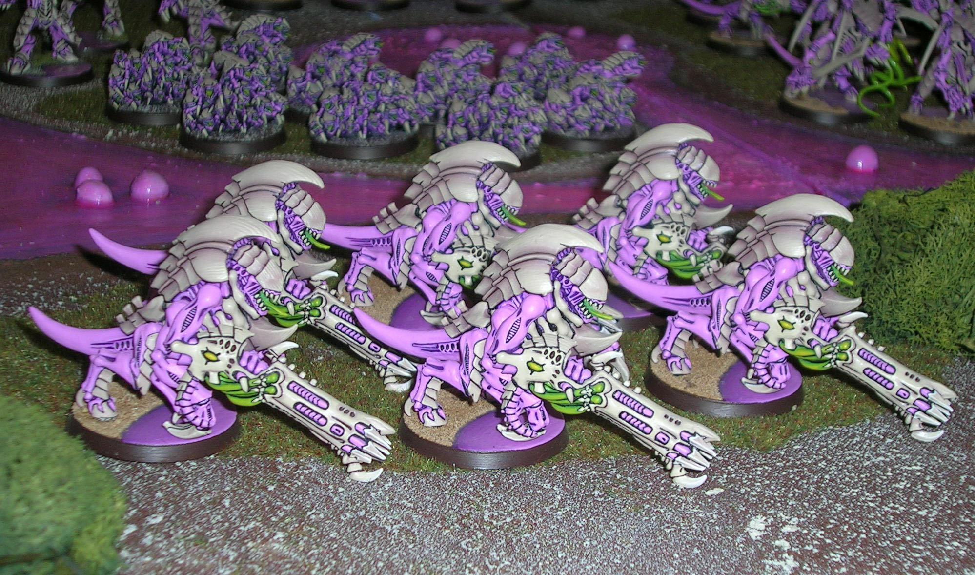 Purple, Tyranids