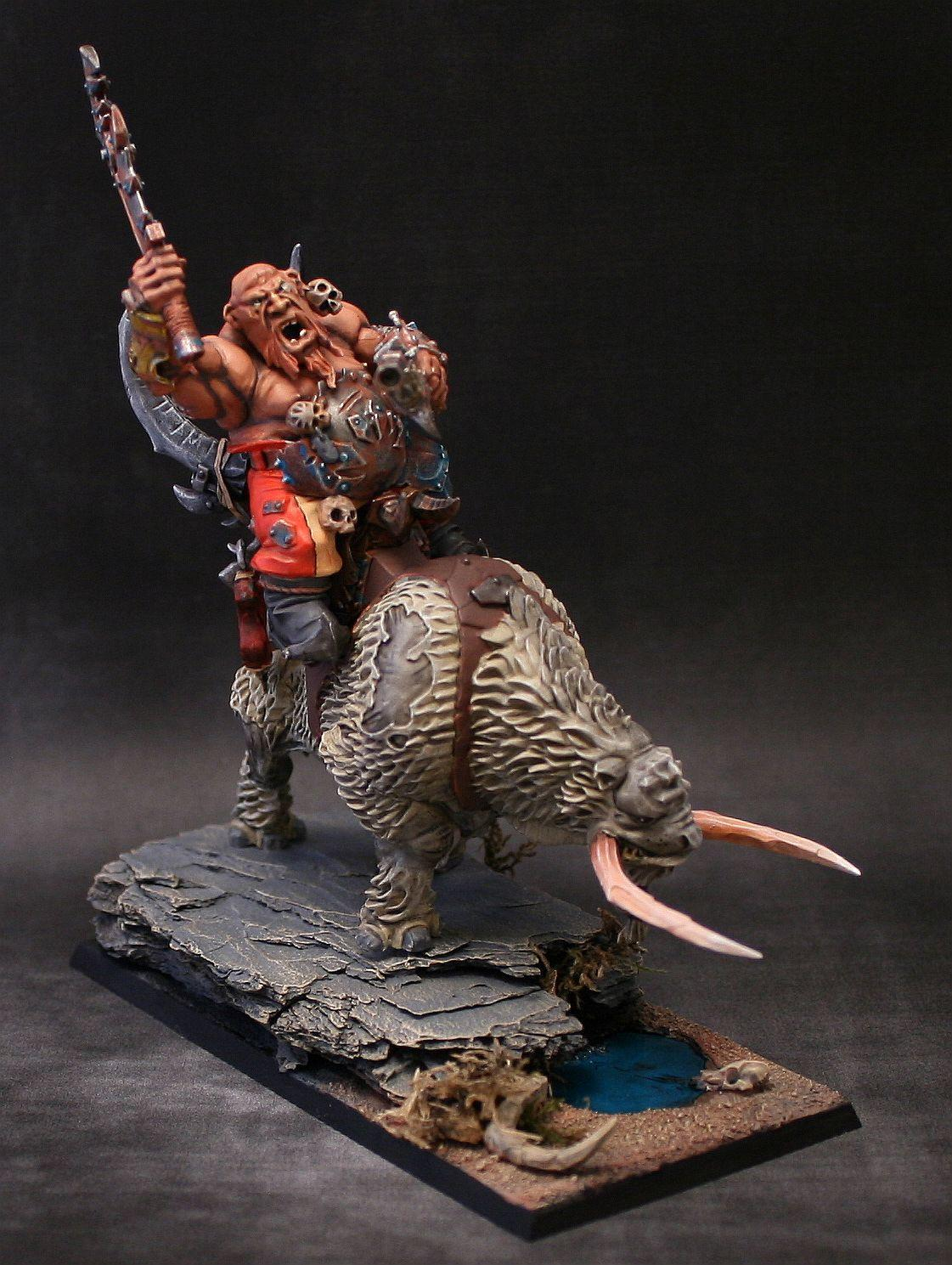 Crusher, Mournfang Cavalry, Ogres, Warhammer Fantasy
