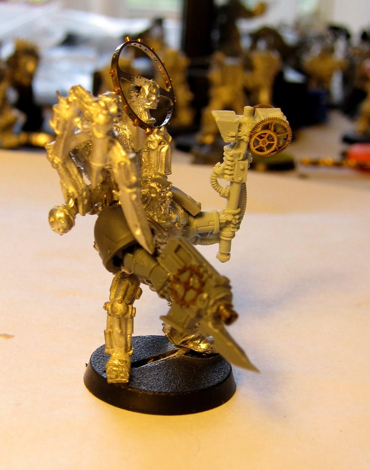 Admech, Chaos, Conversion, Dark Mechanicus, Iron Warriors, Mechanicus, Techmarine, Warpsmith