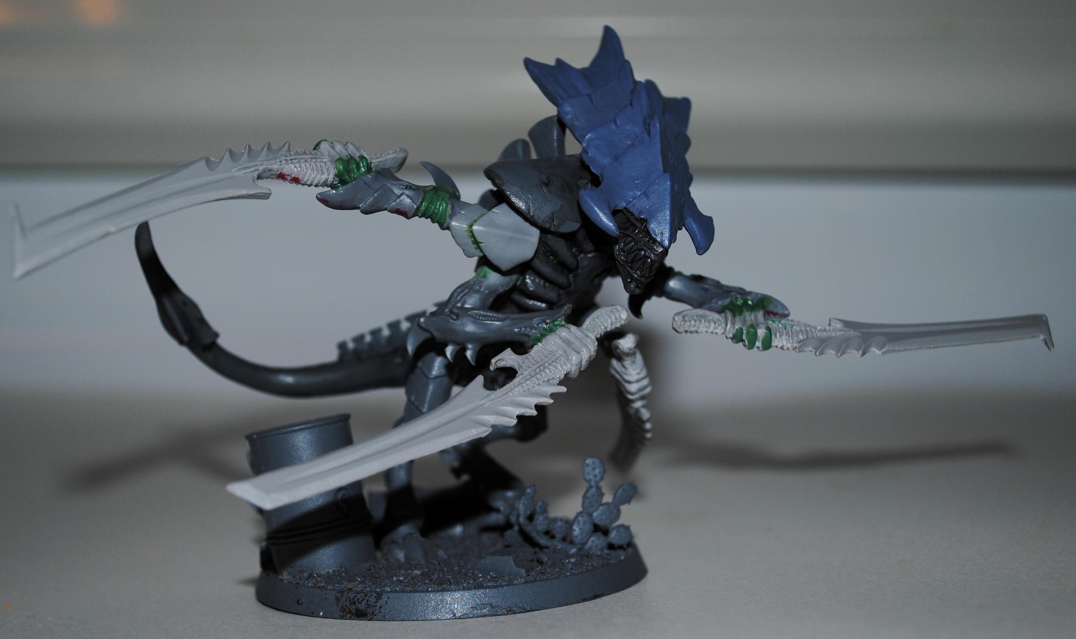 Bone Sabres, Conversion, Swarm Lord, Tyranids, Warhammer 40,000, Work In Progress