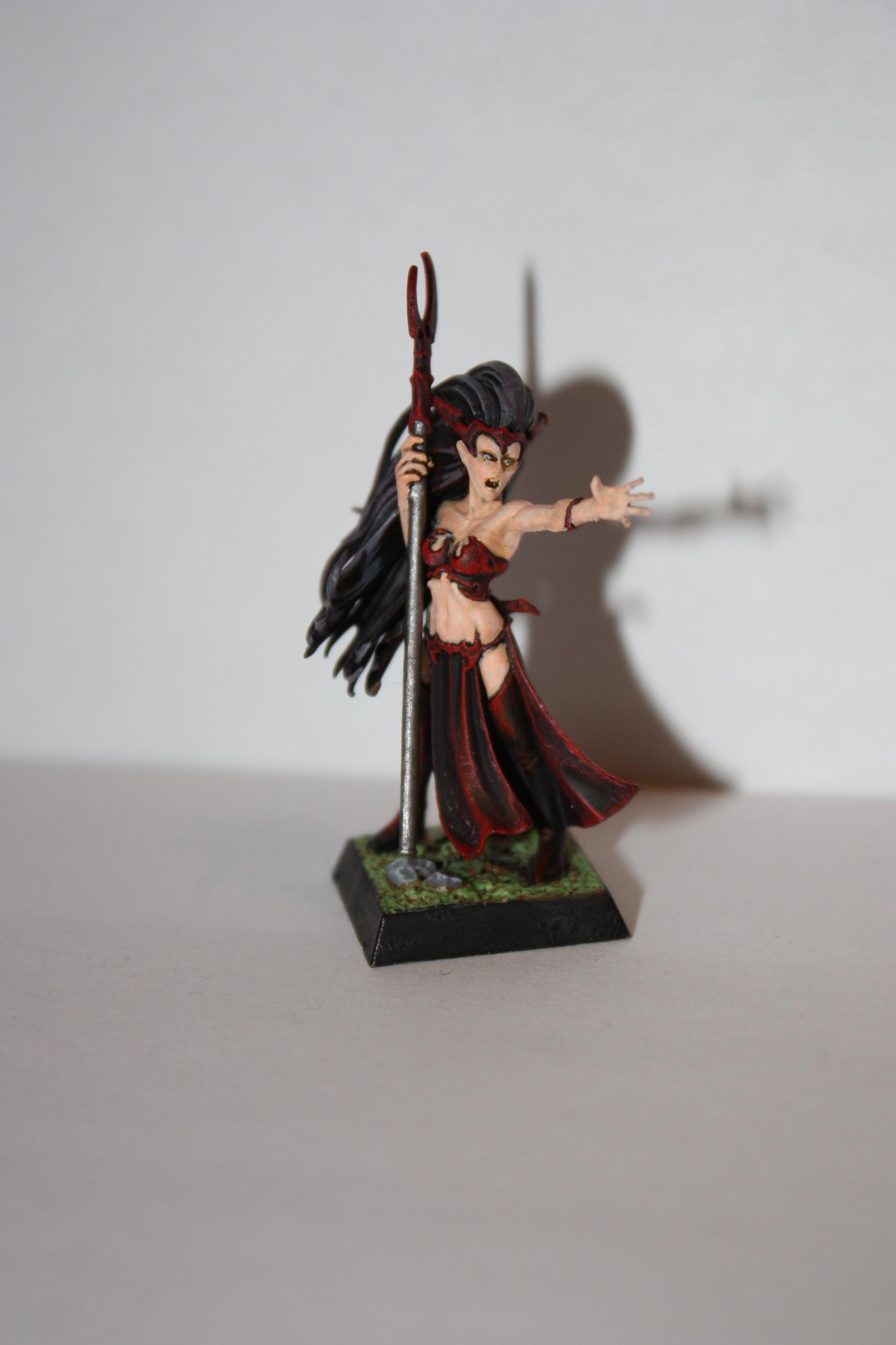 Dark Elves, Sorceress, Warhammer Fantasy