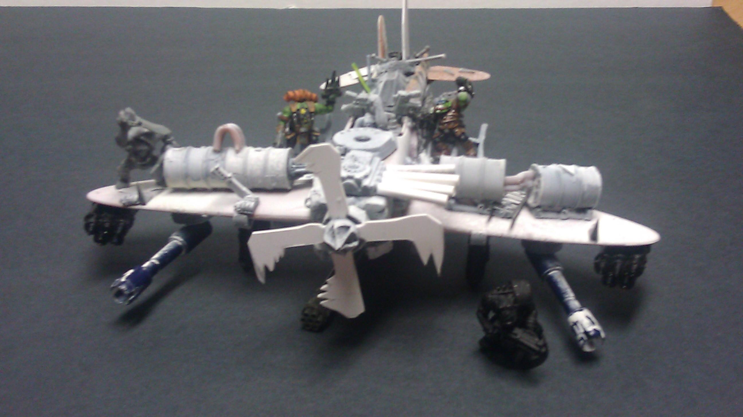 Bomber, Custom, Jet, Orks, Warhammer 40,000
