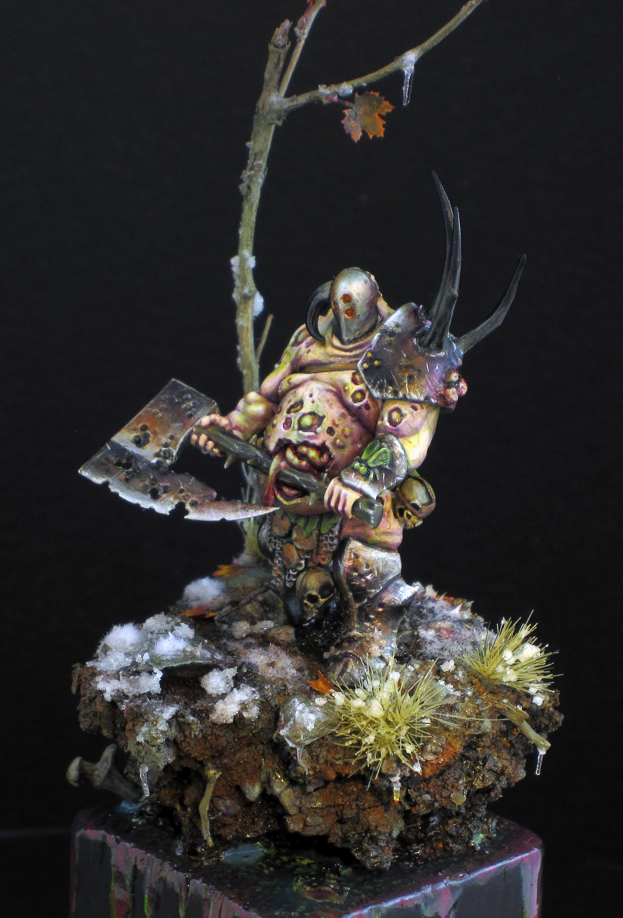 Custom, Freehand, Lord, Nurgle