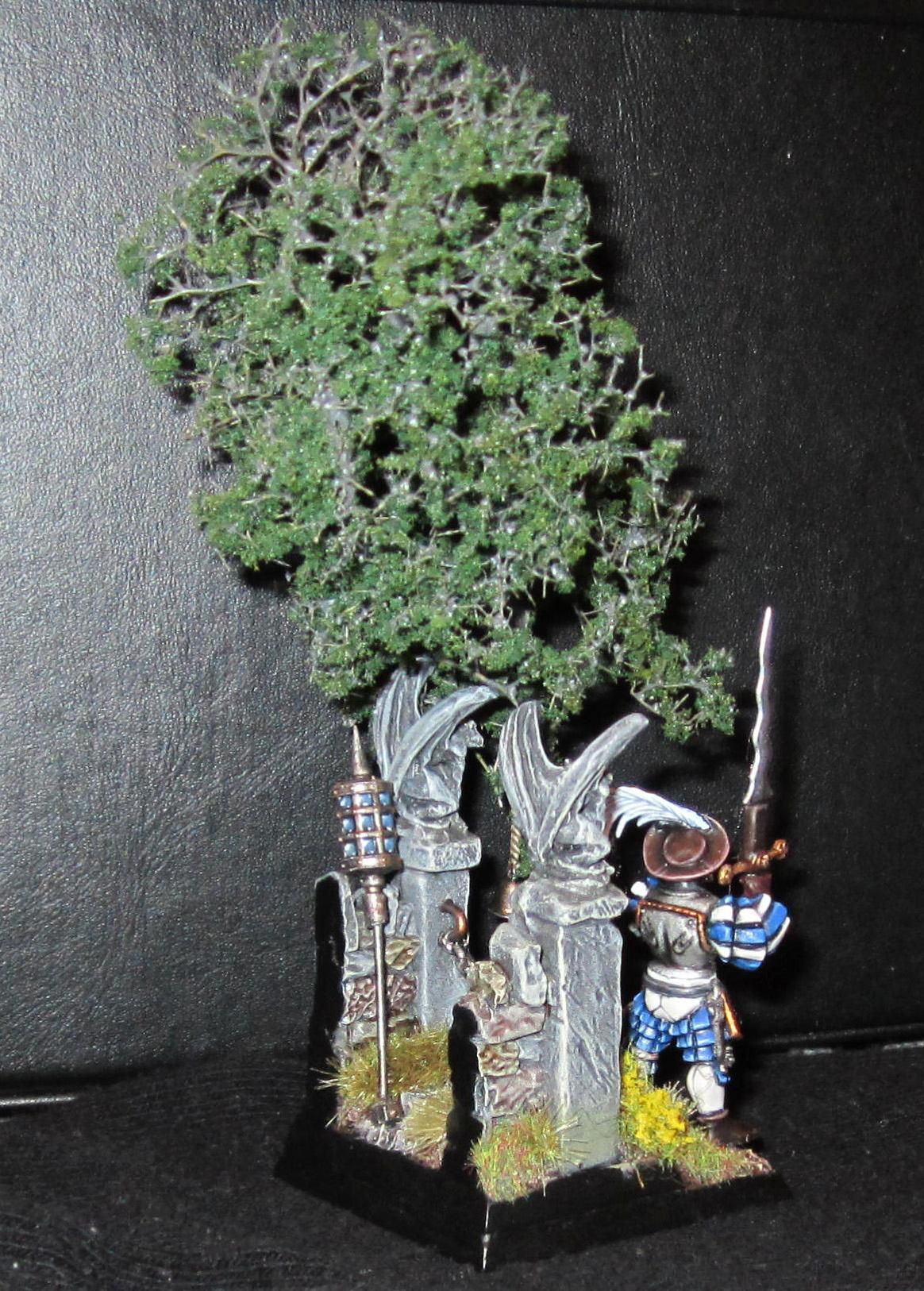 Diorama, Empire, Great, Soldier, Swords, Warhammer Fantasy