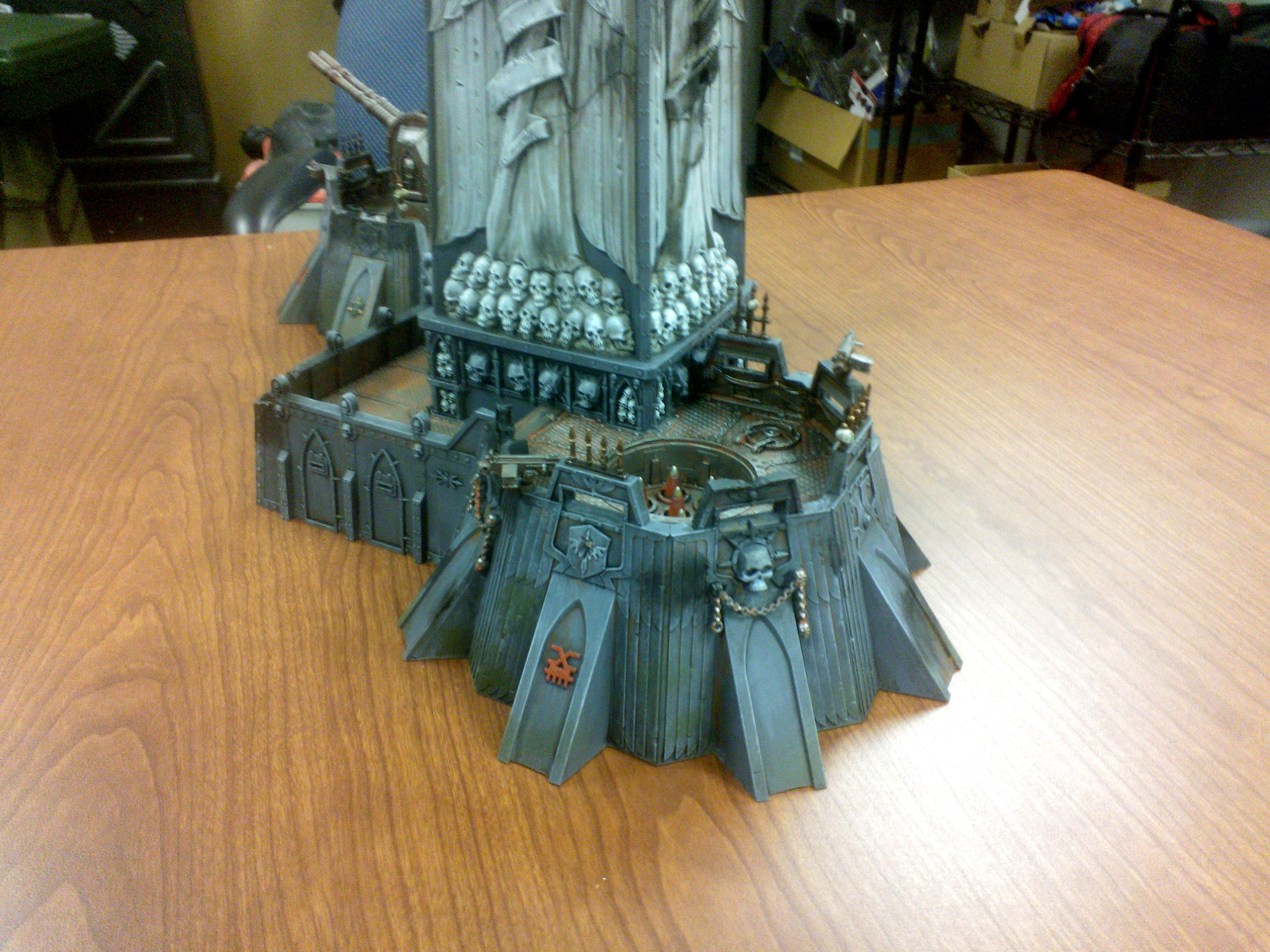 Chaos Space Marines, Fortress Of Redemption, Terrain, Warhammer 40,000
