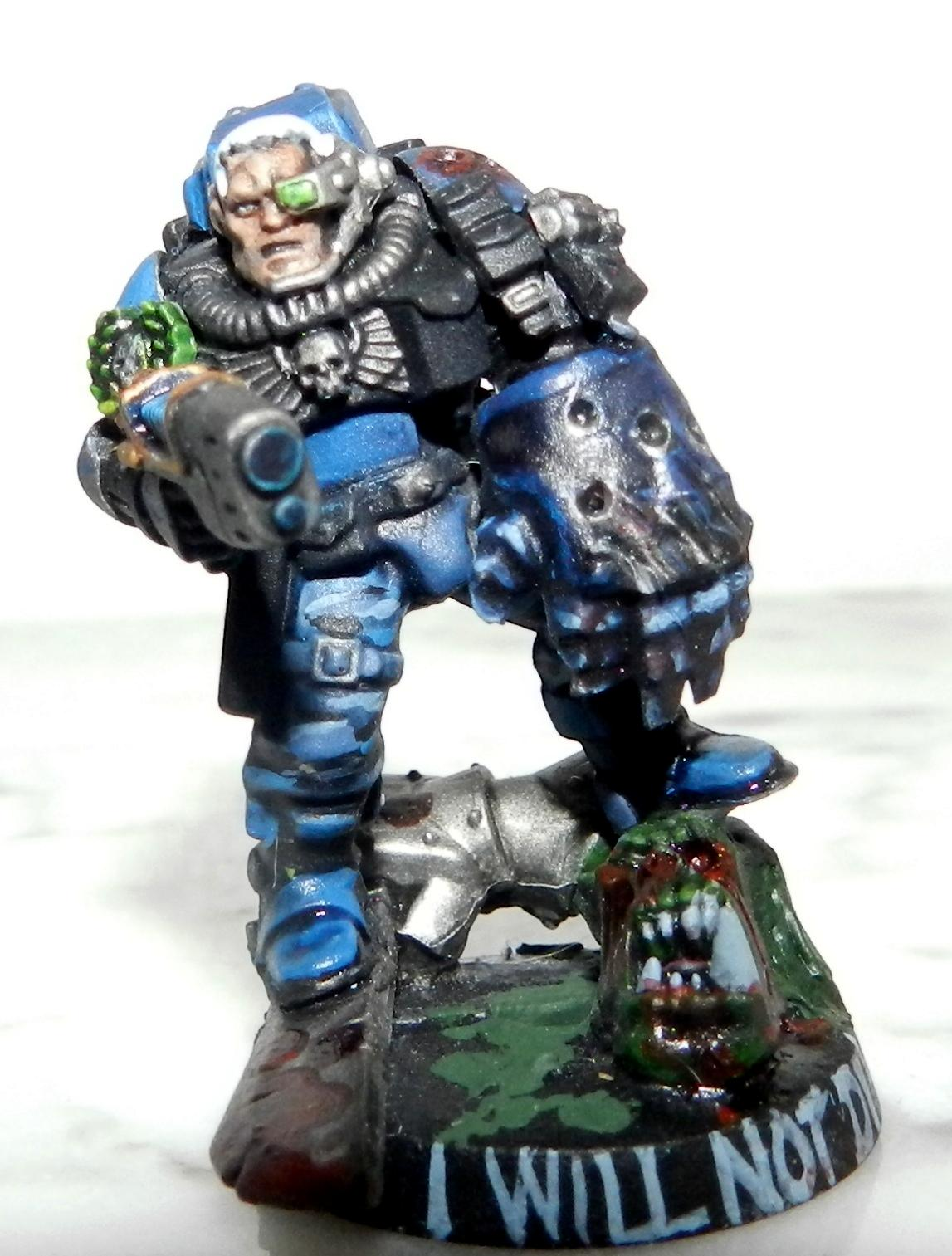 Adeptus Arbites, Blood, Cadians, Camouflage, Carapace, Ccs, Conversion, Count As, French, Gears Of War, Gore, Grenadier, Grenadiers, Guardsmen, Headquarters, Imperial Guard, Junior Officer, Officer, Ork Abuse, Plasma Gun, Power Fist, Scars, Scouts, Sergeant, Urban, Warhammer 40,000, Wolf Scout, Work In Progress