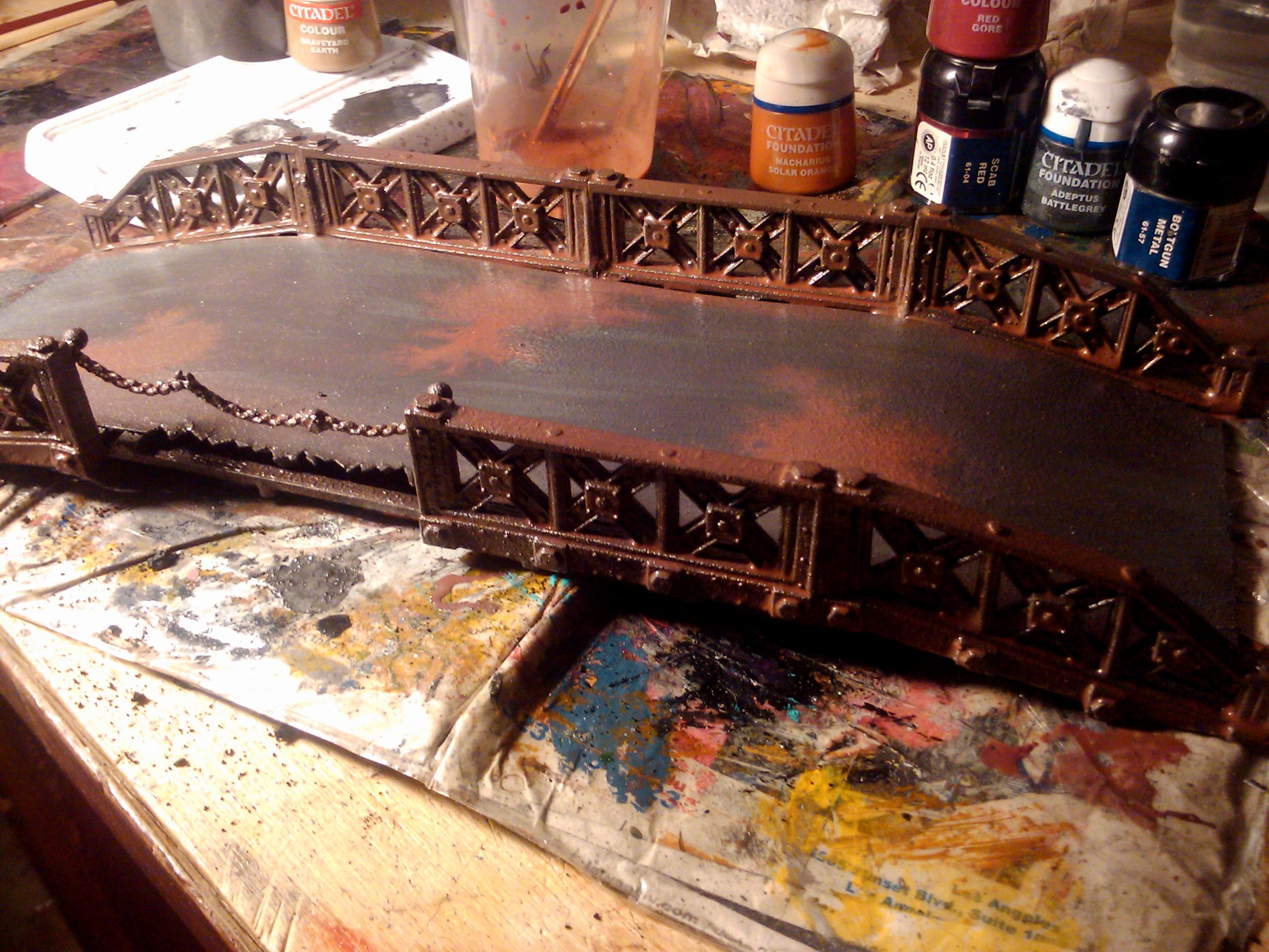 Bridge, Build, Cardstock, Hobby, Maiden, Modeling, Painting, Plasticard, Project, Terrain