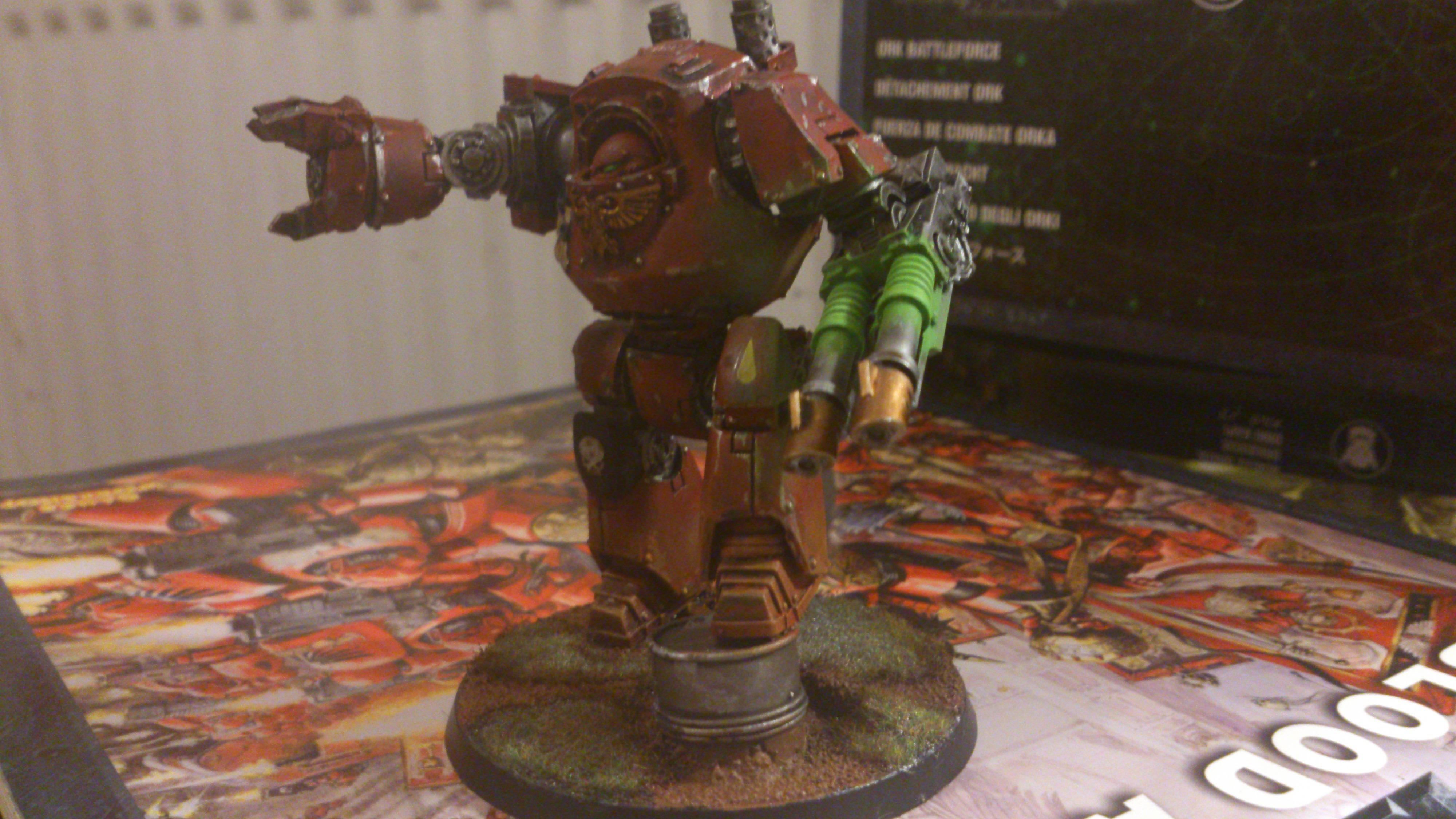 Contemptor, Space Marines, Warhammer 40,000