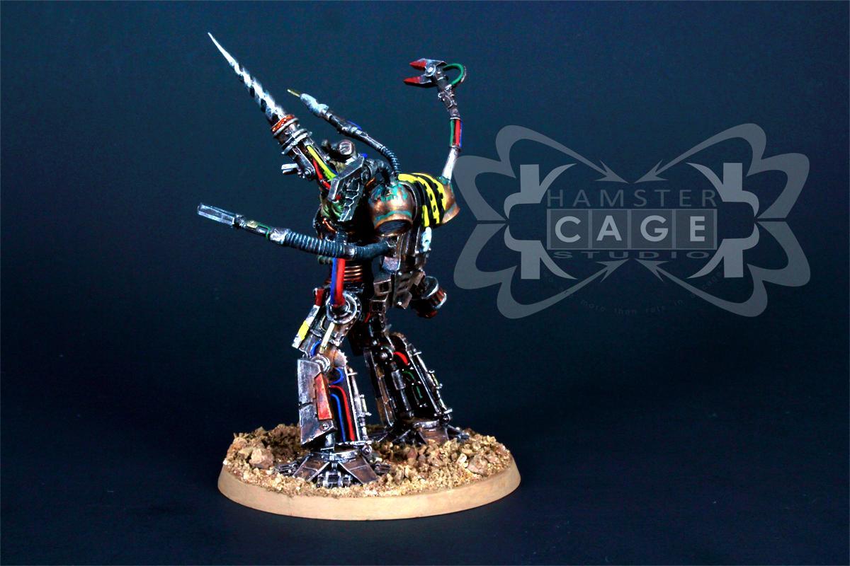 Chaos Space Marines, Daemon Prince, Iron Warriors