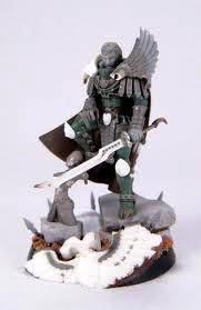 Commander, Conversion, Count As, Fulgrim, Green, Primarch, Warhammer 40,000, Work In Progress