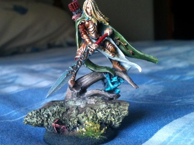 Elves, Non-Metallic Metal, Warhammer Fantasy, Wood