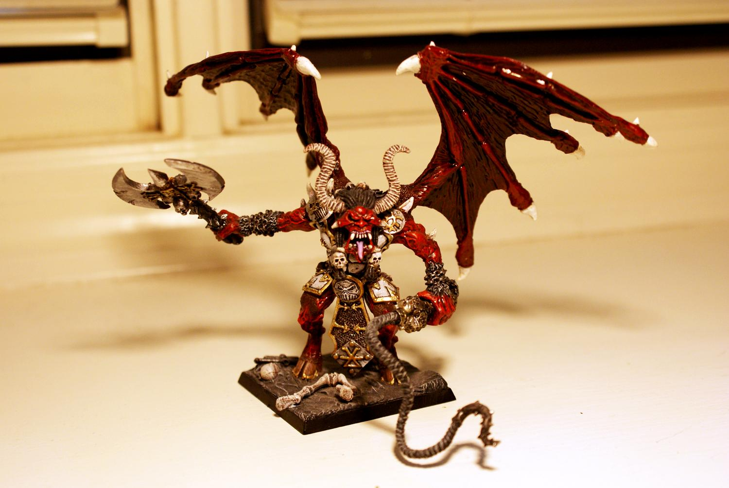 Chaos, Conversion, Daemons, Greater, Khorne, Red, Warhammer 40,000, World Eaters