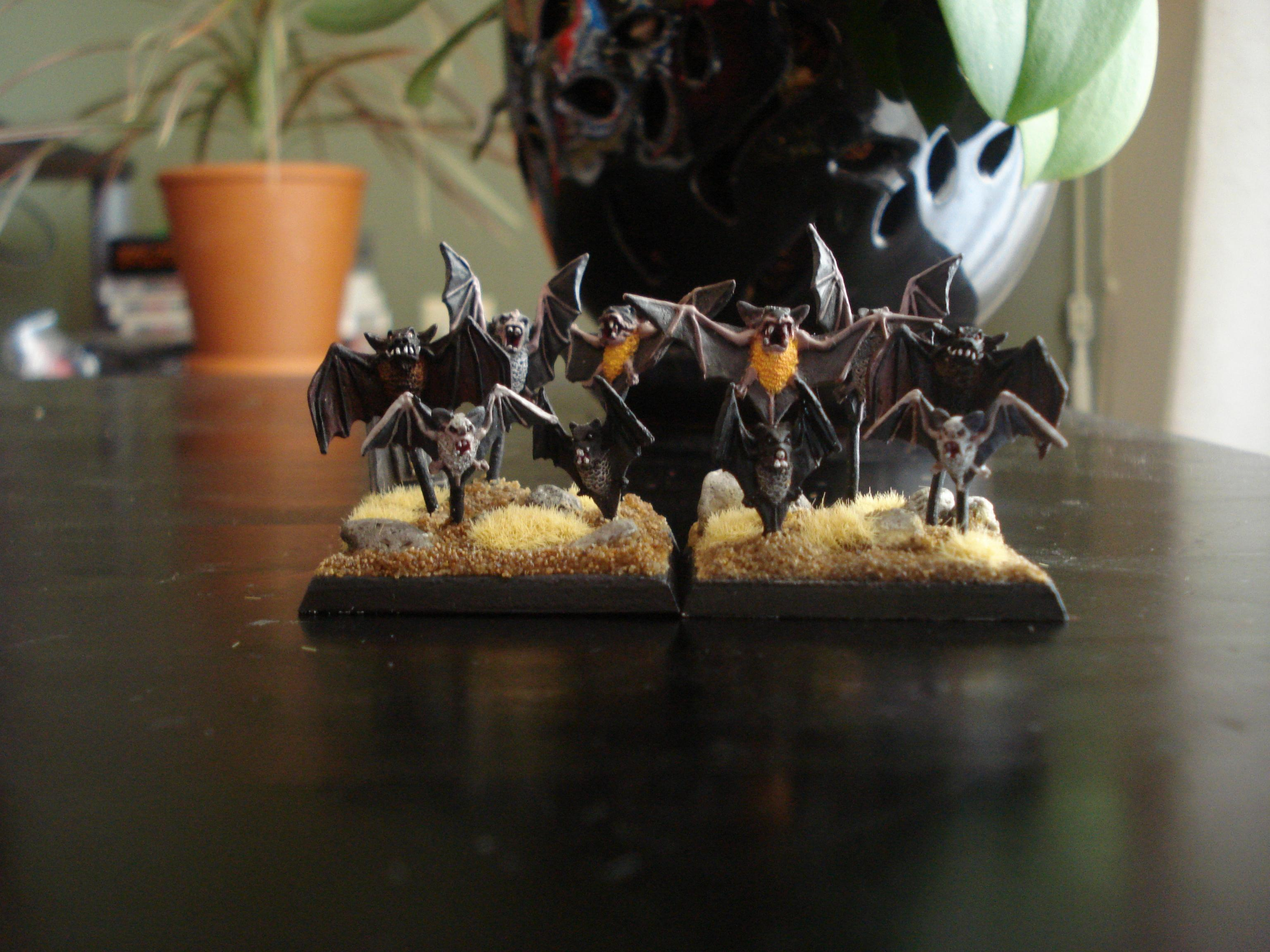 Bat Swarm, Bat Swarms, Bats, Vampire Counts, Warhammer Fantasy
