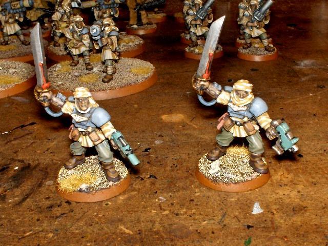 Astra Militarum, Commissars, Imperial Guard, Tallarn Desert Raiders, Warhammer 40,000