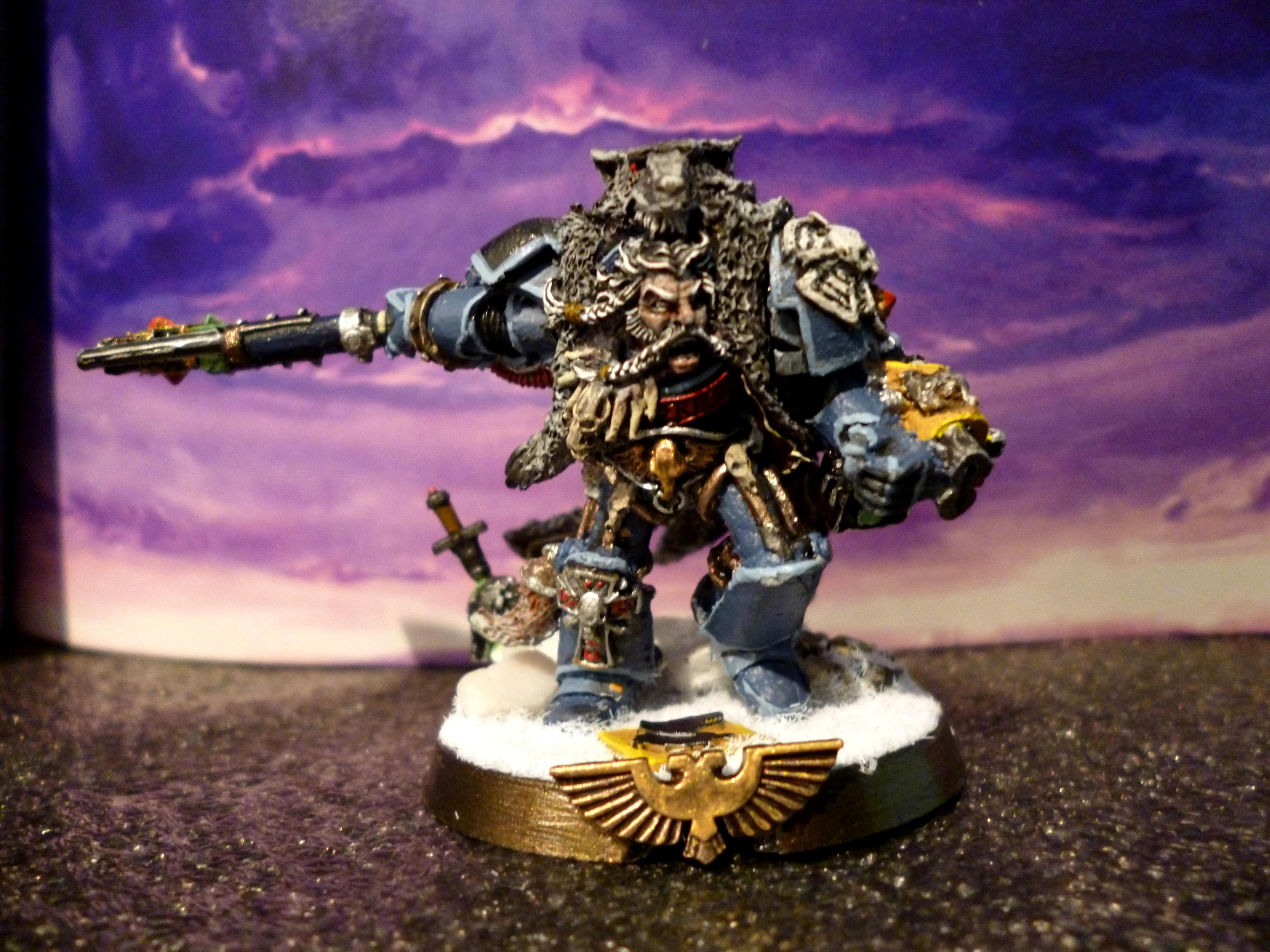 Headquarters, King, Logan Grimnar, Space Marines, Space Wolves, The Old Wolf