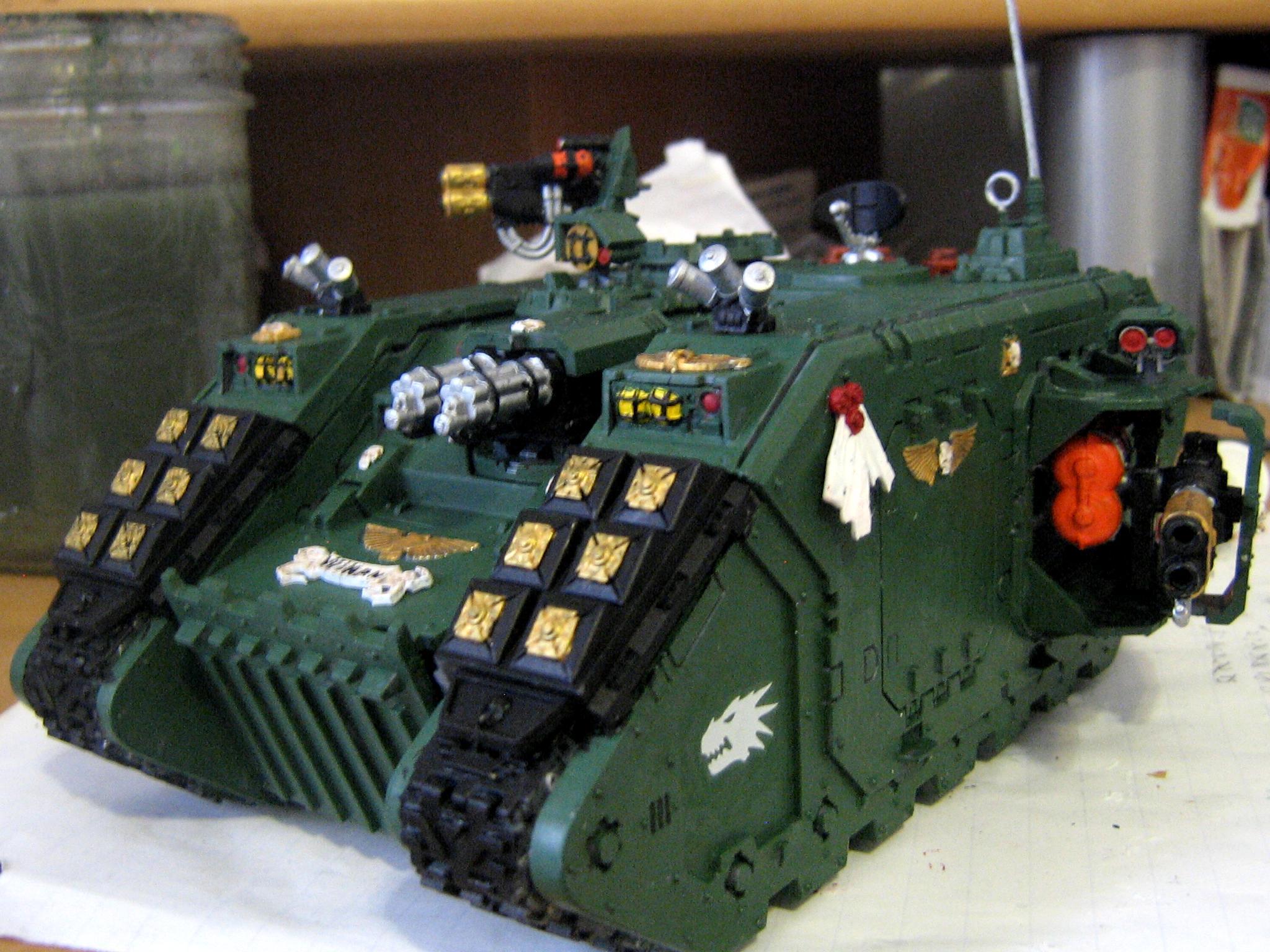 Land Raider, Land Raider Redeemer, Salamanders, Space Marines
