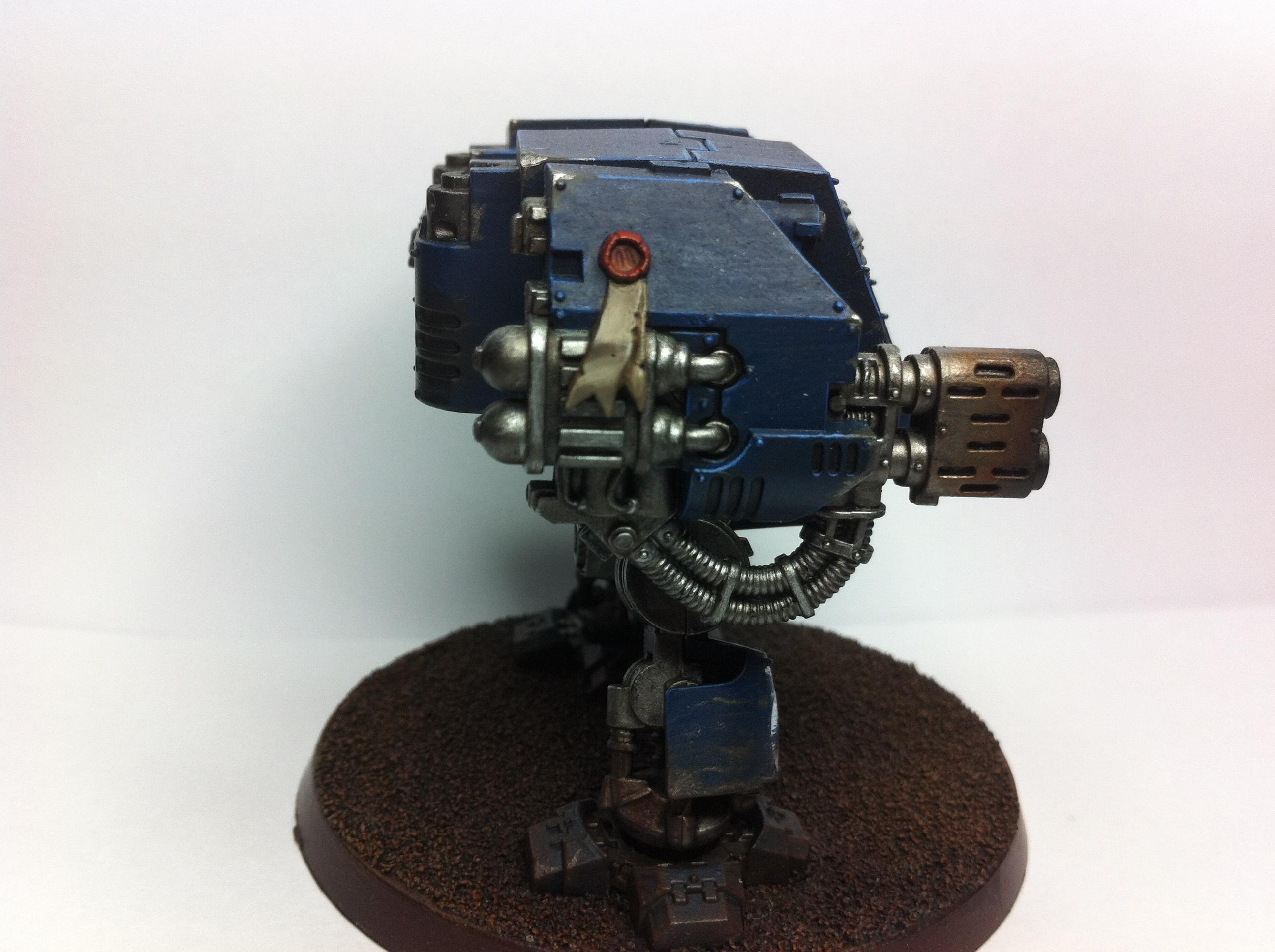 Dreadnought, Meltagun, Space Marines