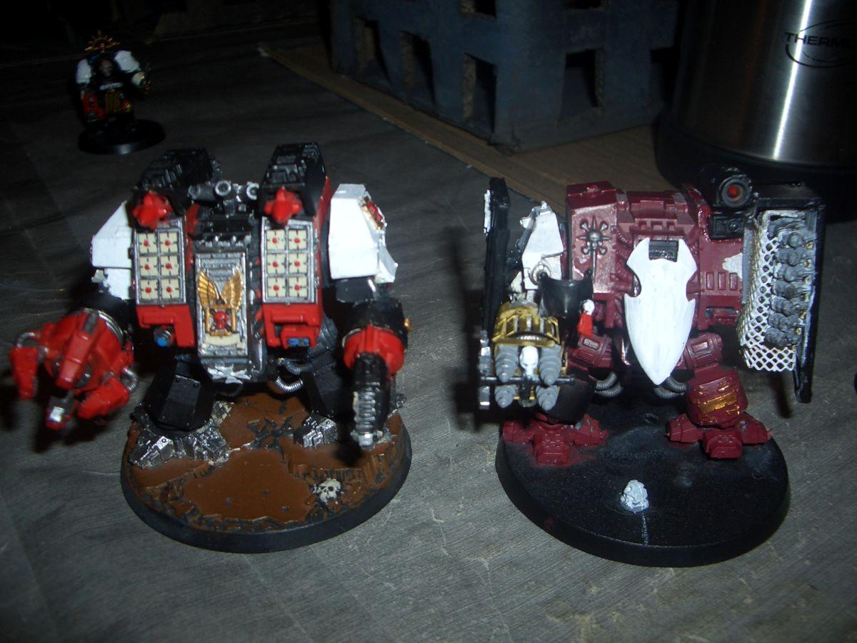 Dreadnought, Ironclad, Terminator Techmarine