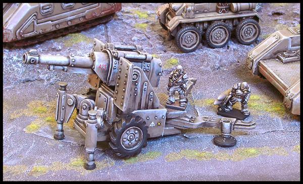 Ramshackle Games Artillery Cannon