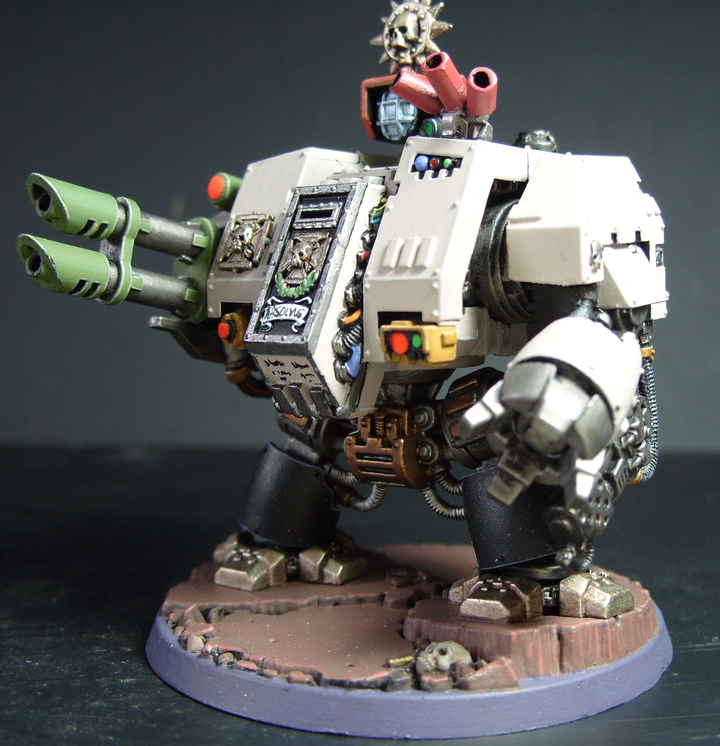 Adeptus Astartes, Dreadnought, Lascannon, Space Marines, Warhammer 40,000