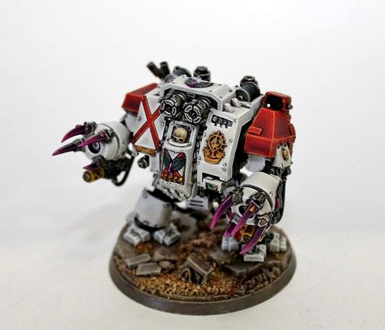 Angels Encarmine, Dc, Death Comapny, Dreadnought, Pro Painted, Space Marines, Warhammer 40,000