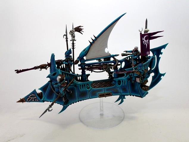 Dark Eldar, De, Pro Painted, Raider