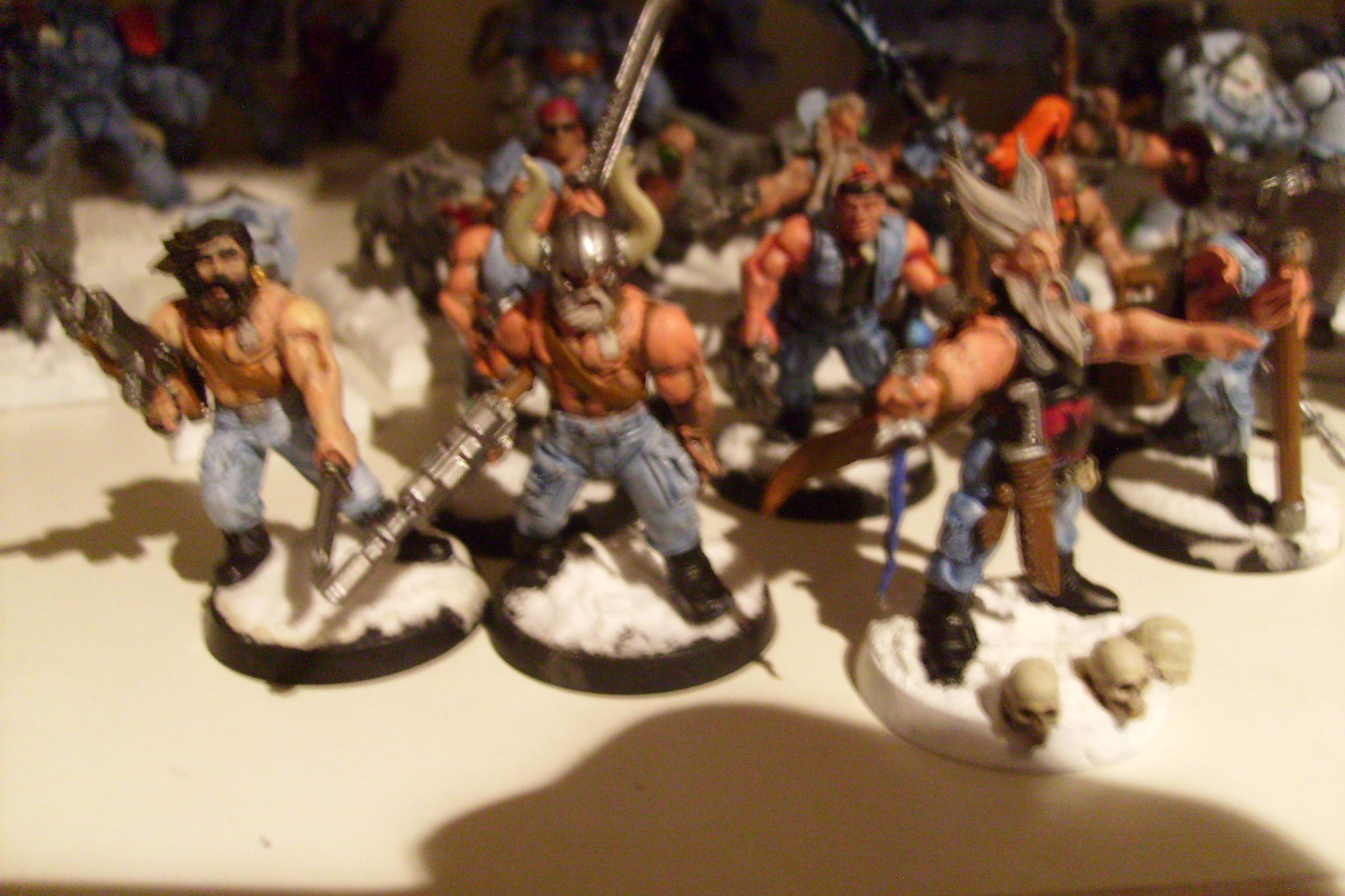 Imperial Guard, Spacewolves Fenrisian, Wolves
