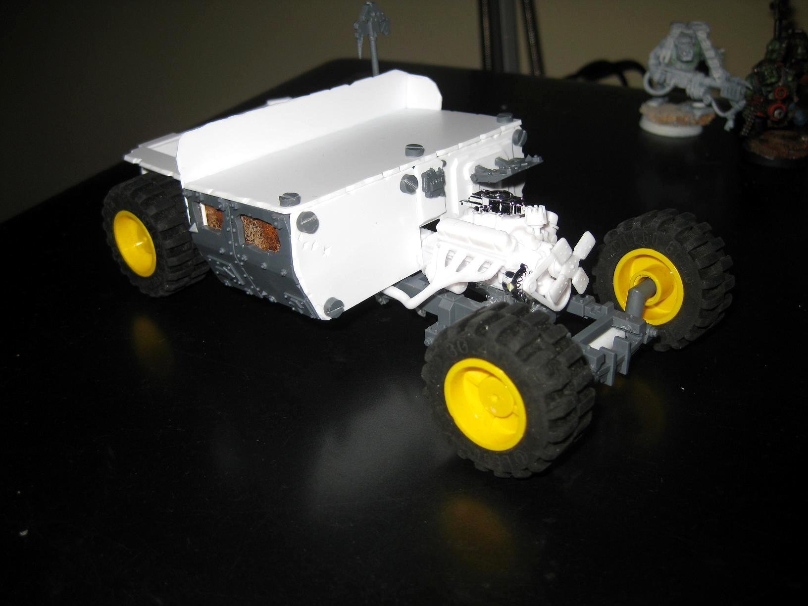 Blood Axe, Buggy, Conversion, Custom Build, Orks, Rod, Scratch Build