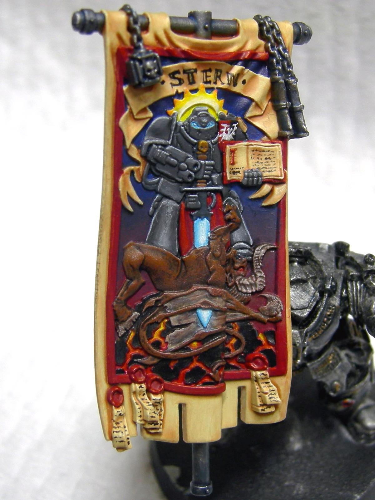 Banner, Grey Knights, Stern