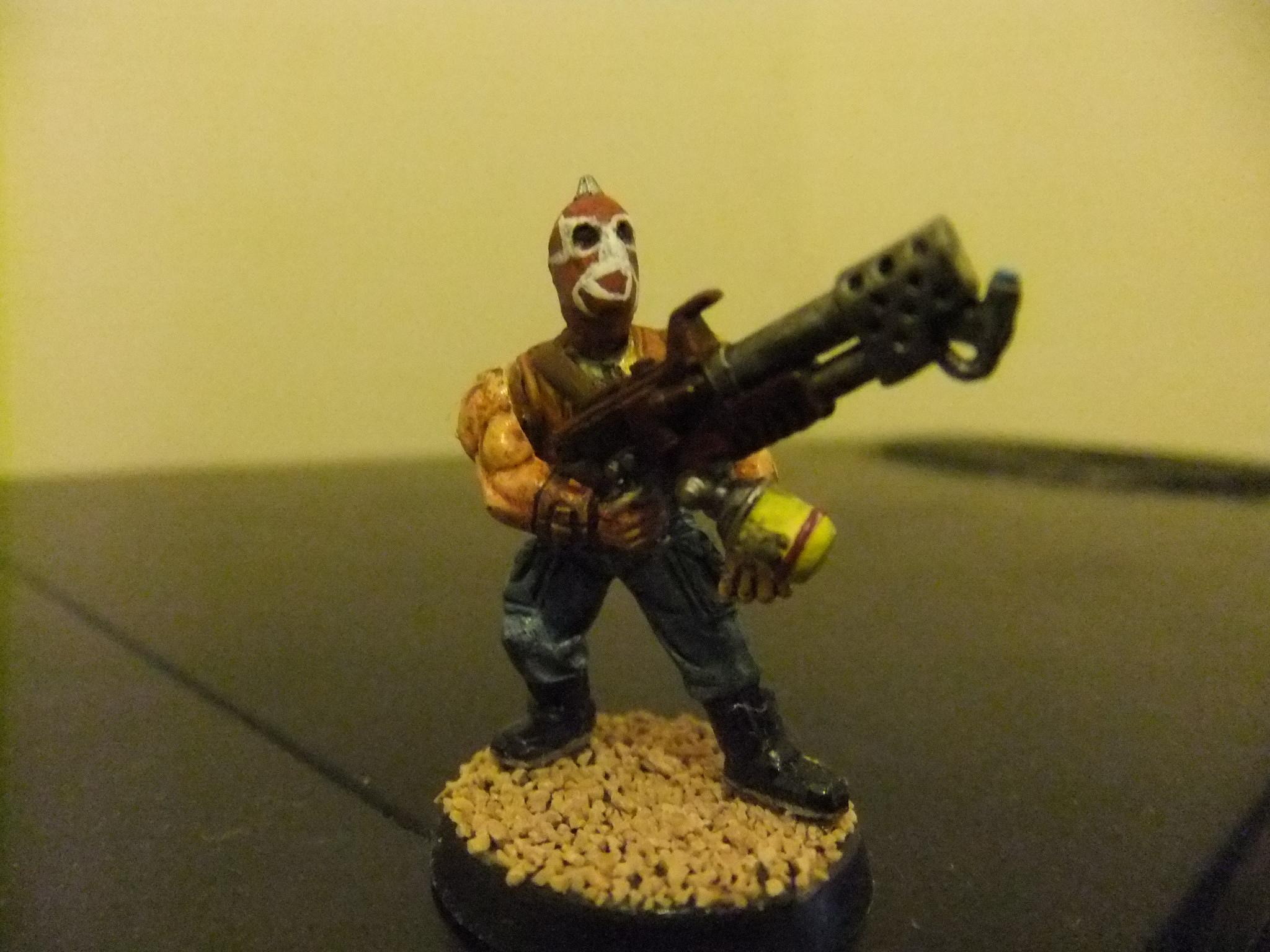 Hispanic, Imperial Guard, Necromunda, Orlock