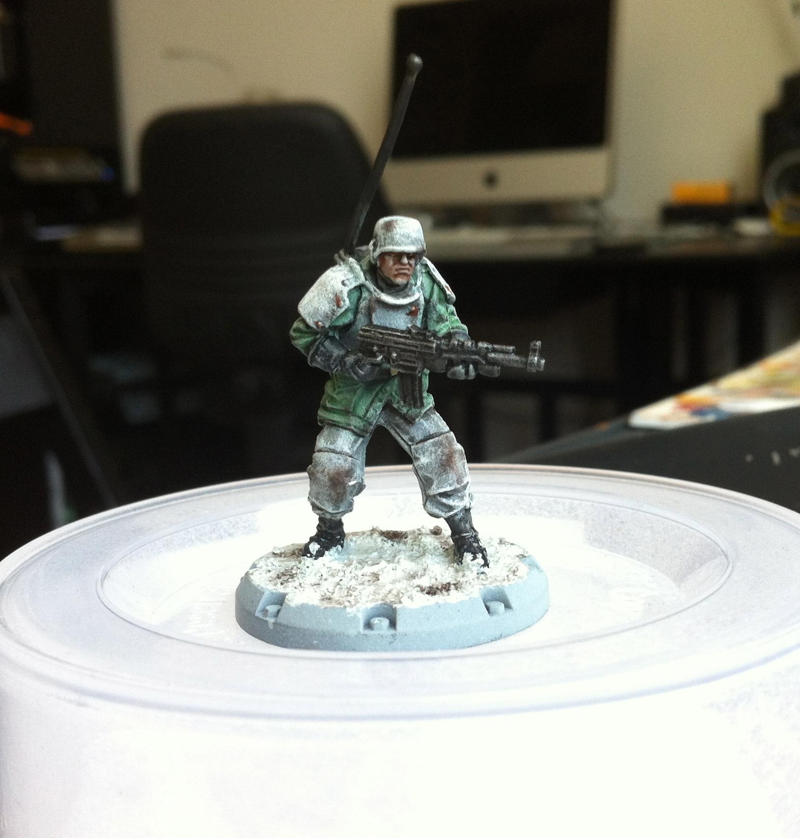 Axis, Dust Tactics, Kommandotrupp